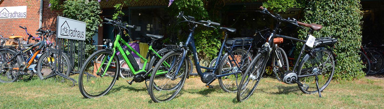 E-Bikes - der neue Trend