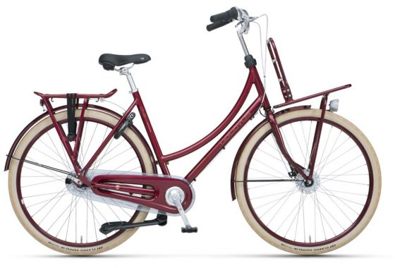 Batavus Diva Plus – dark red